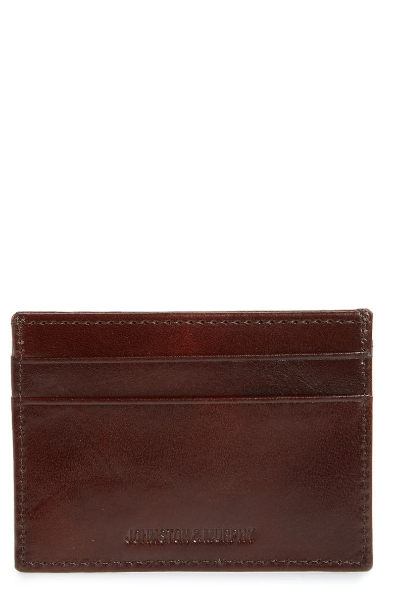 Johnston Murphy Leather Card Case