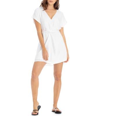 Tavik Ansel Tie Back Minidress, White