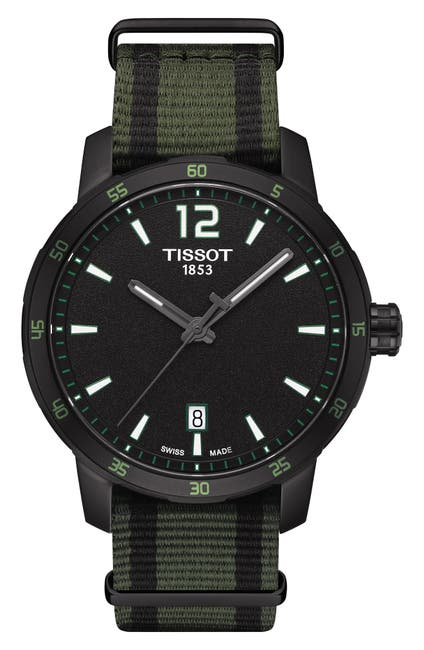 Image of Tissot Men's Quickster NATO Strap Watch, 40mm