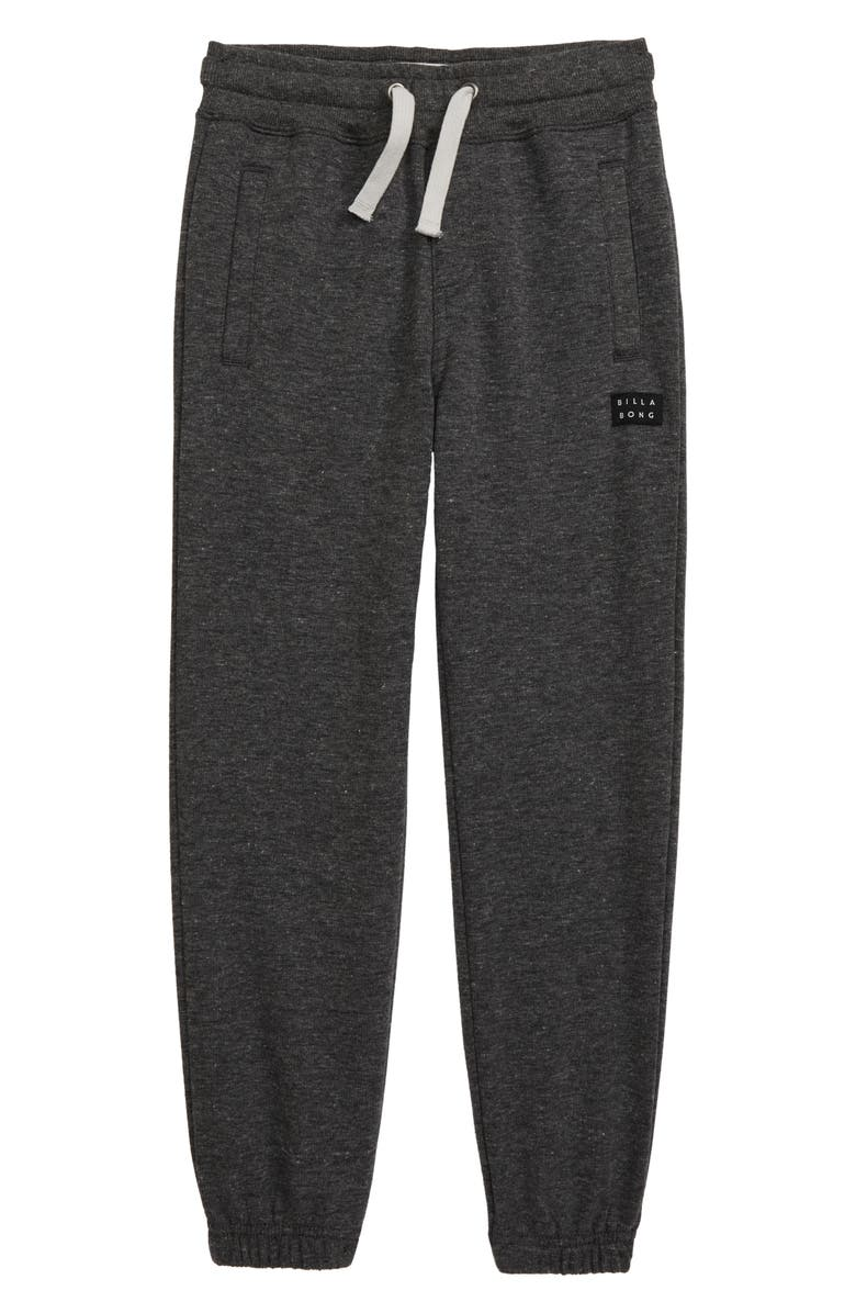 BILLABONG All Day Sweatpants, Main, color, BLACK