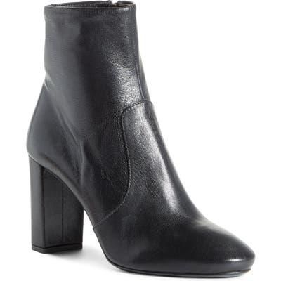 Prada Block Heel Bootie, Black