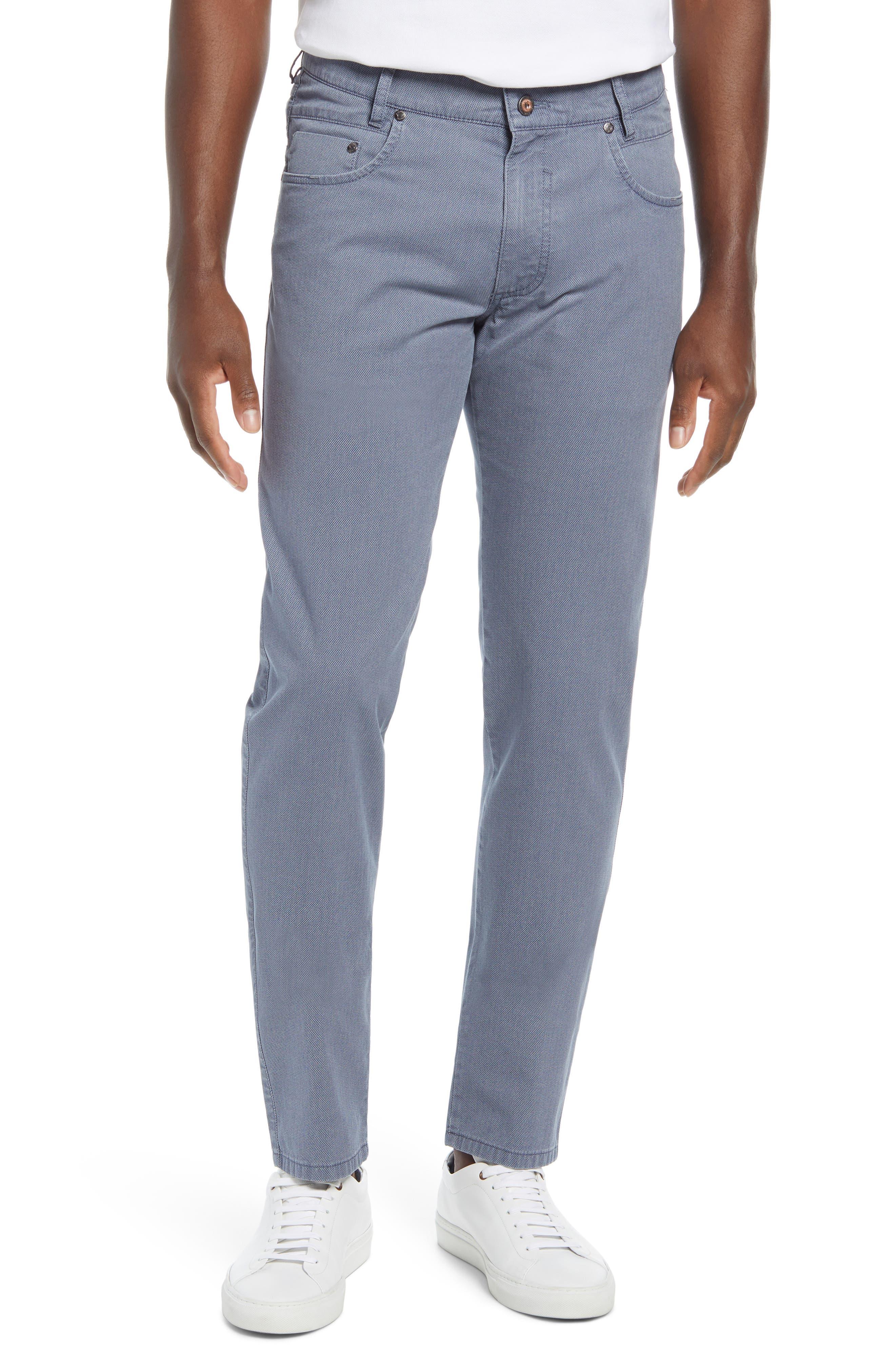 Stretch Cotton Five Pocket Pants