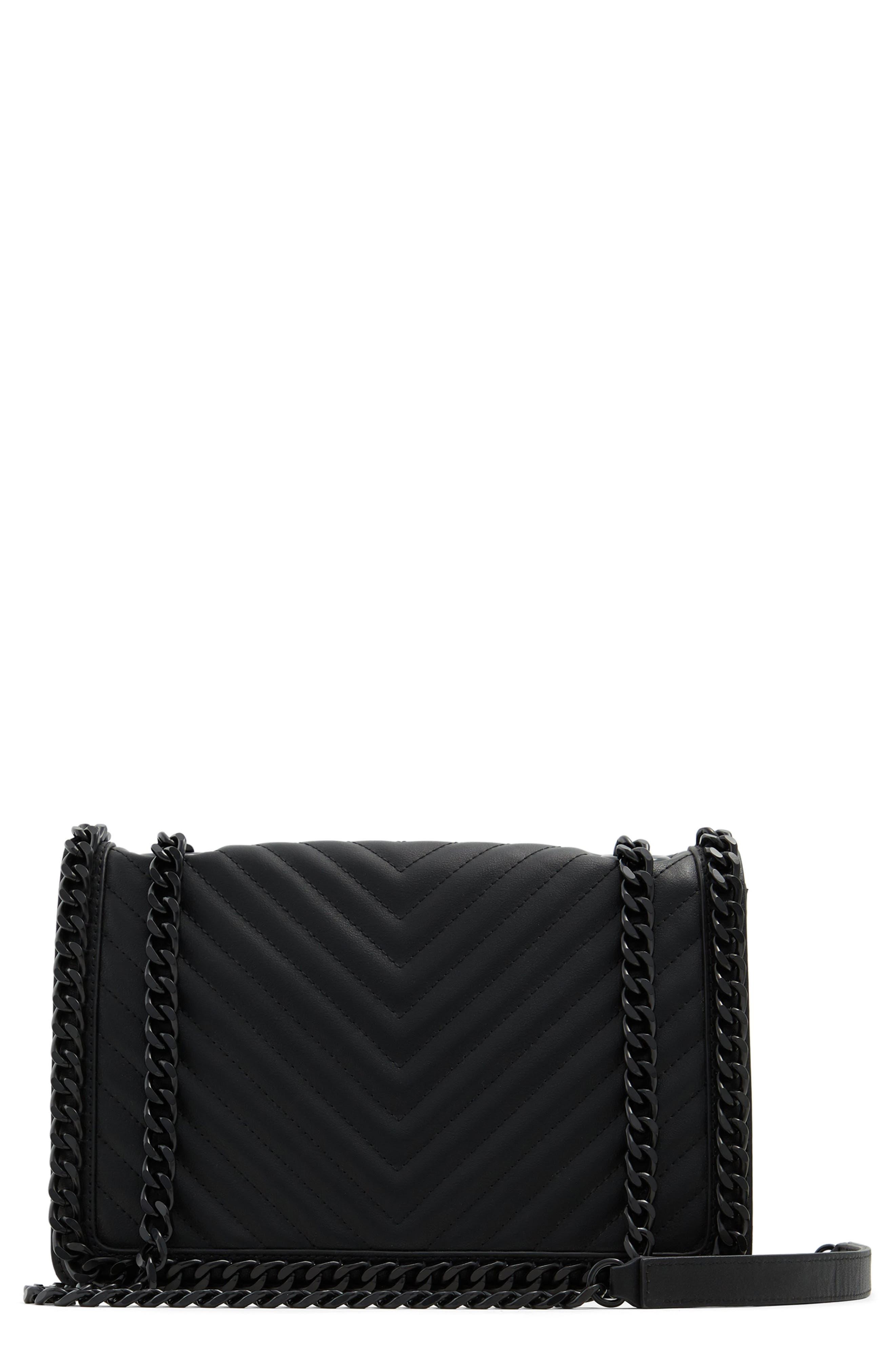 Greenwald Faux Leather Crossbody Bag
