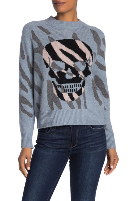 Image of SKULL CASHMERE Jaden Wool & Cashmere Blend Sweater