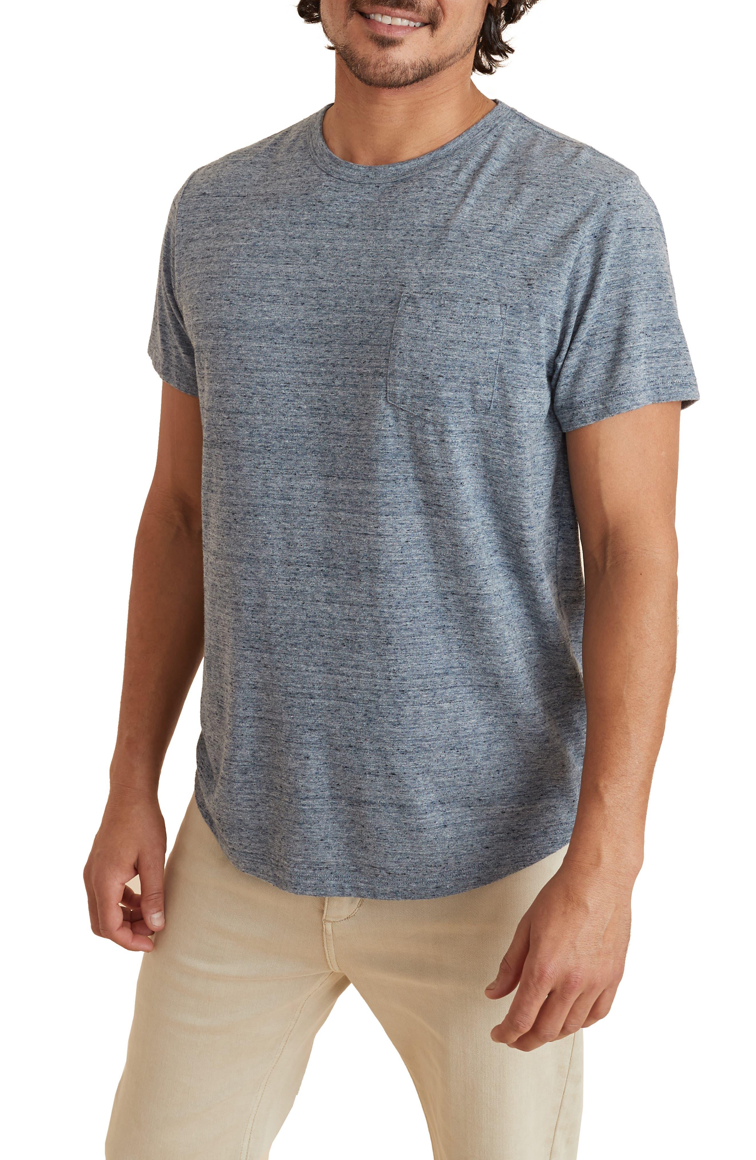 Re-Spun Saddle Hem Pocket T-Shirt