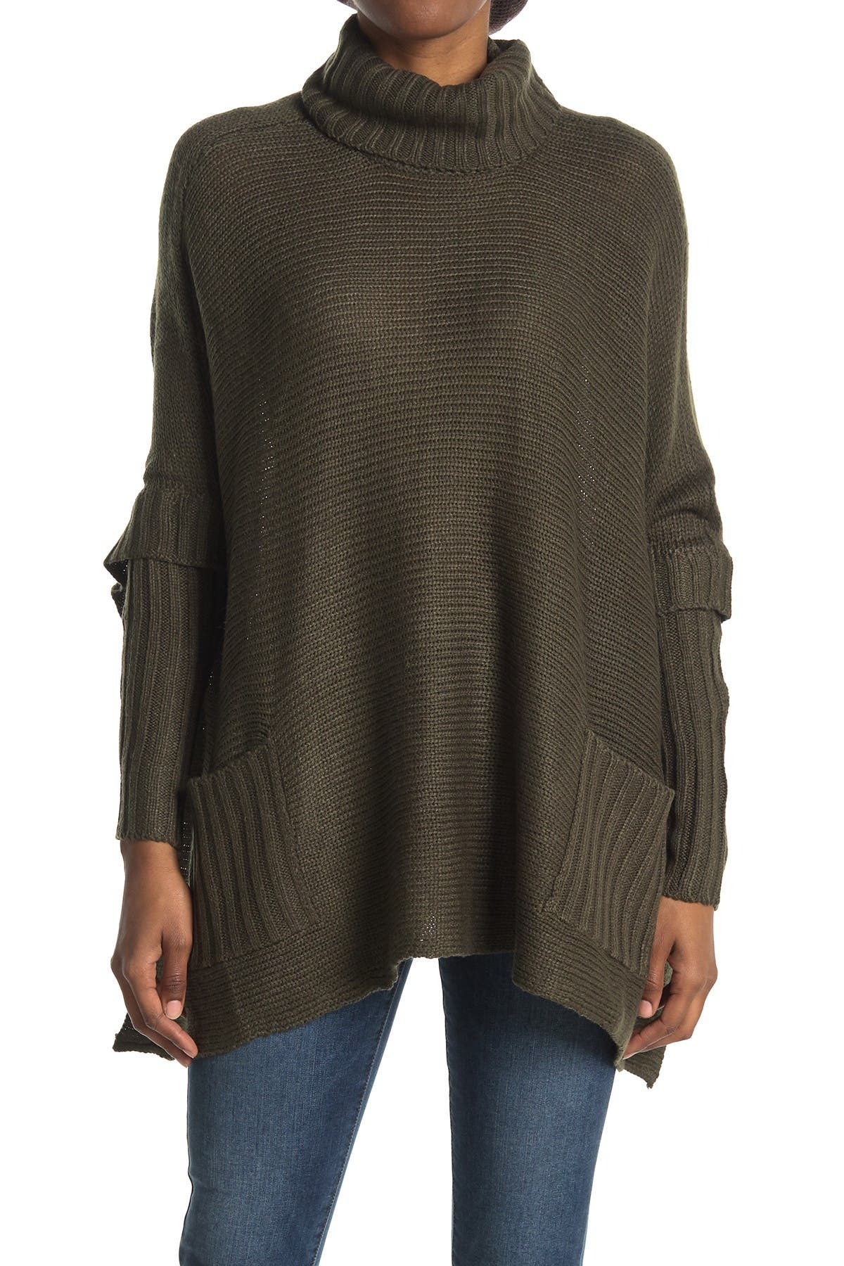 Image of Cloth By Design Long Sleeve Poncho