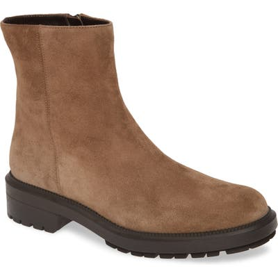 Aquatalia Lauriston Weatherproof Bootie- Beige