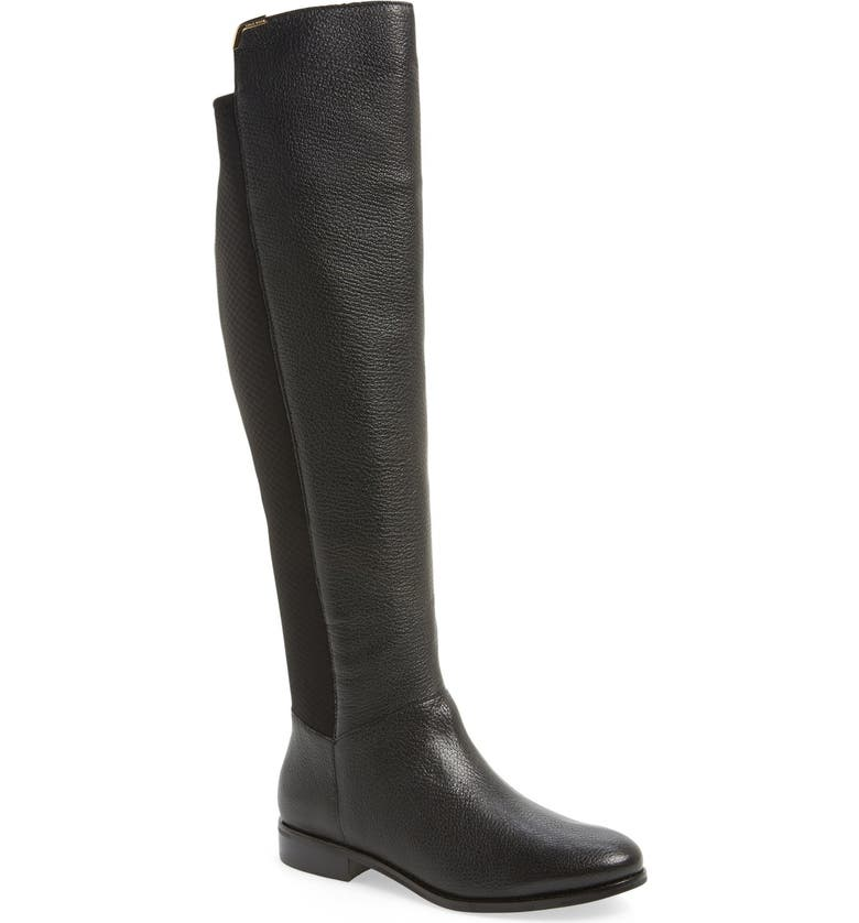 COLE HAAN 'Dutchess' Over the Knee Boot, Main, color, 002