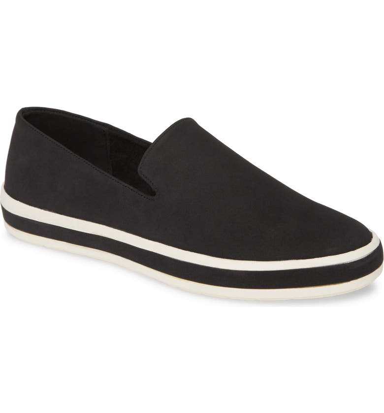 BELLA VITA Spencer II Loafer, Main, color, BLACK FABRIC
