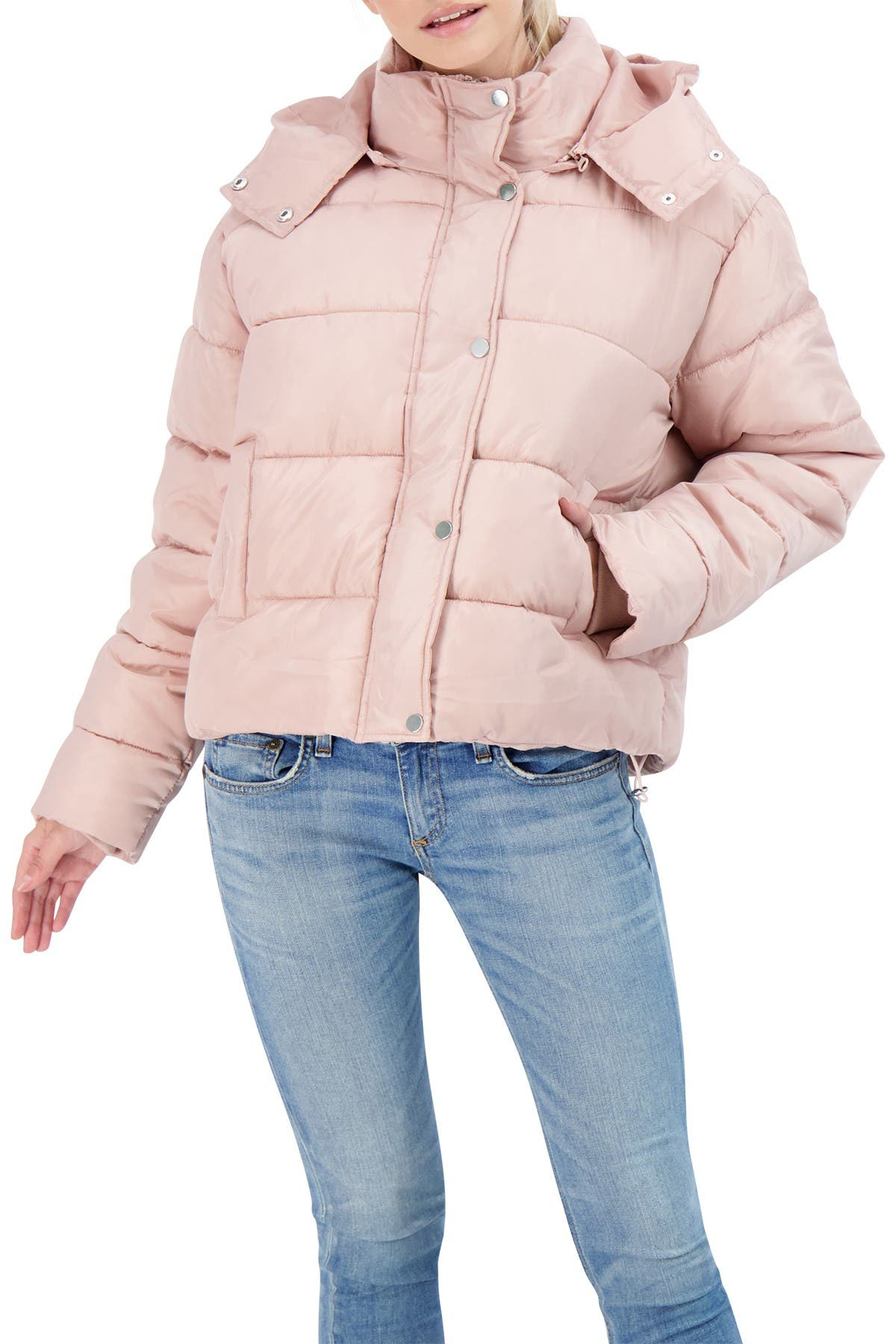 Image of Sebby Hooded Puffer Jacket