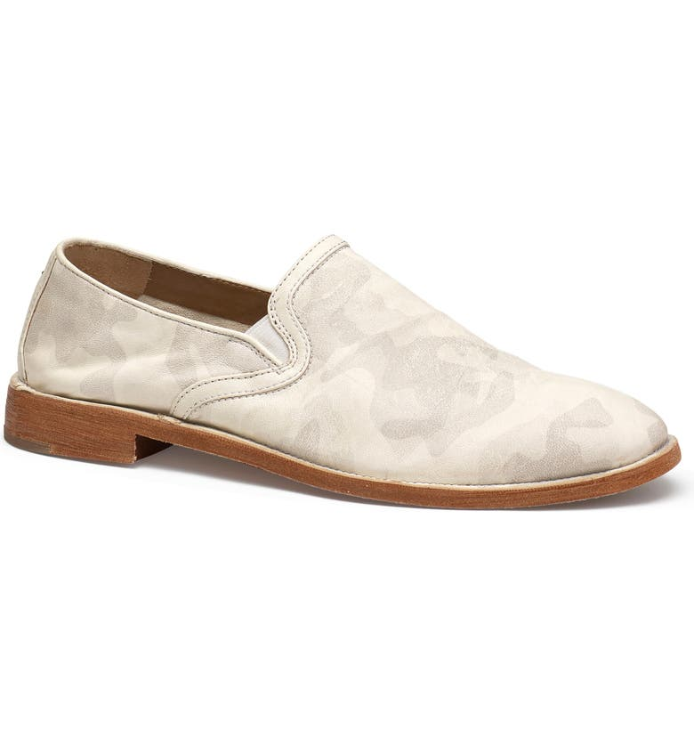 TRASK Ali Loafer, Main, color, WHITE CAMOUFLAGE LEATHER