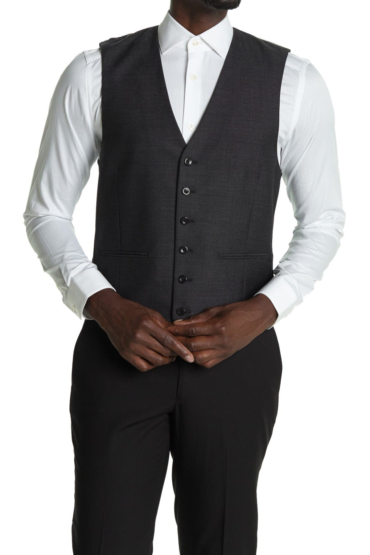 Image of REISS Warlord Modern Fit Waistcoat Vest