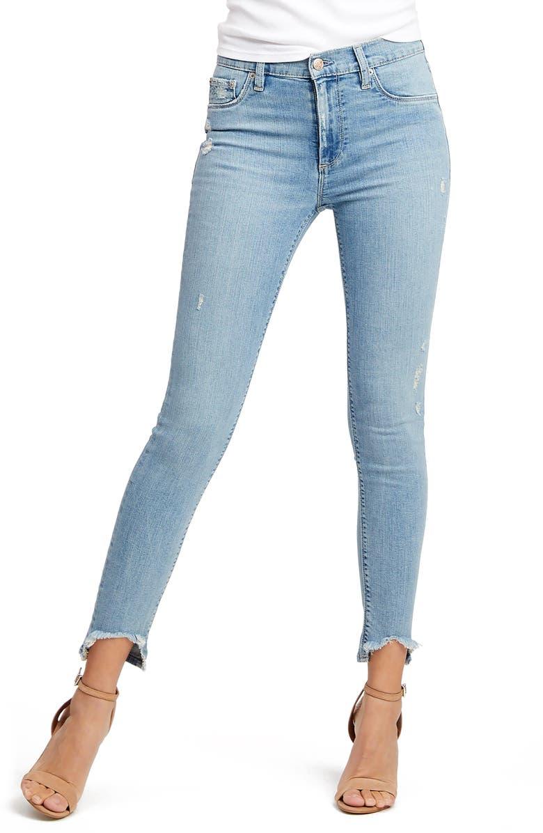 SOCIALITE Twig High Waist Skinny Jeans, Main, color, 400