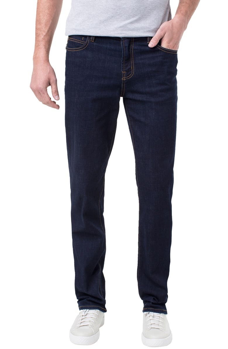 LIVERPOOL Kingston Slim Straight Leg Jeans, Main, color, MODERN RINSE