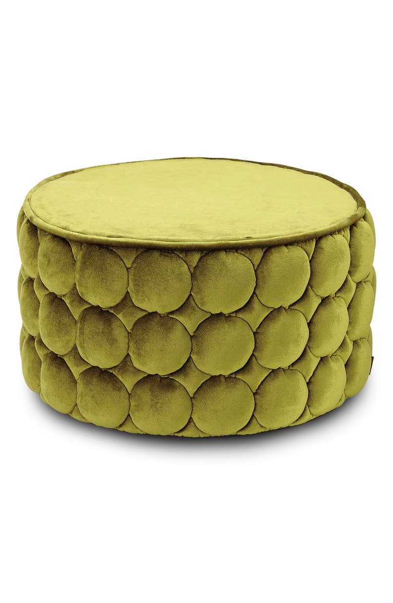 MISSONIHOME Velletri Cylinder Pouf, Main, color, 300