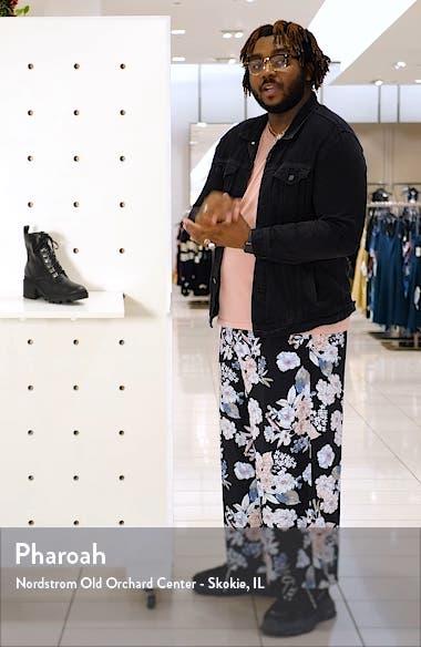 Taylor Block Heel Combat Boot, sales video thumbnail