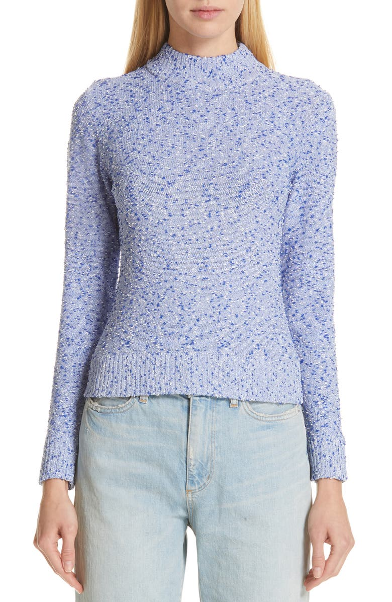SIMON MILLER Ampa Mock Neck Sweater, Main, color, 400