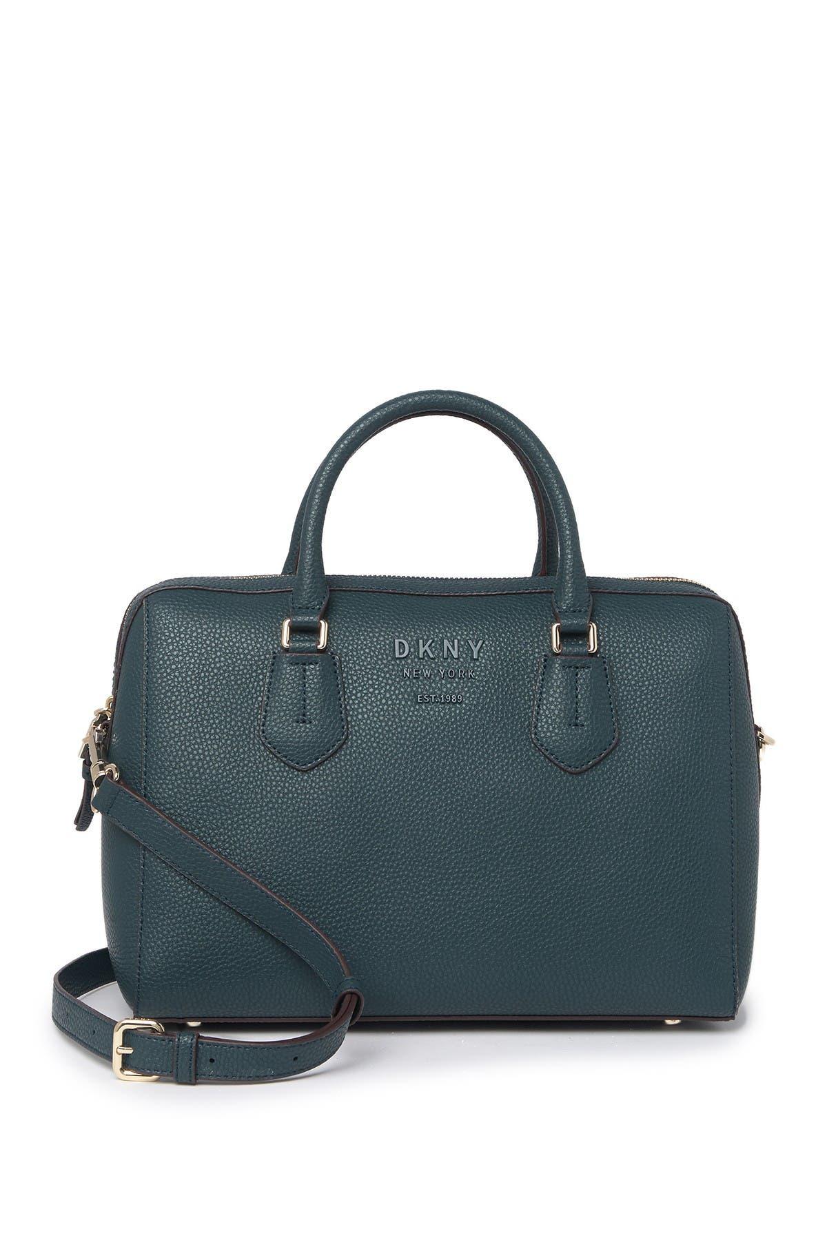 Image of DKNY Noho Pebbled Leather Satchel