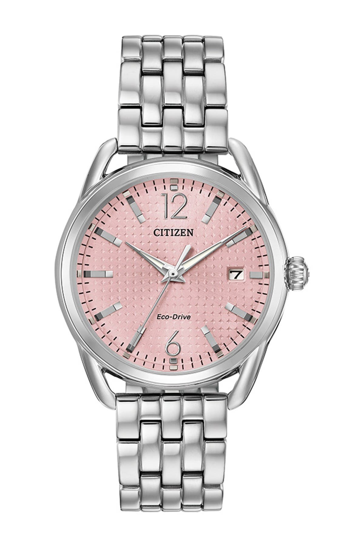 Image of Citizen Women's Standard Stainless Steel Eco-Drive Watch, 36mm