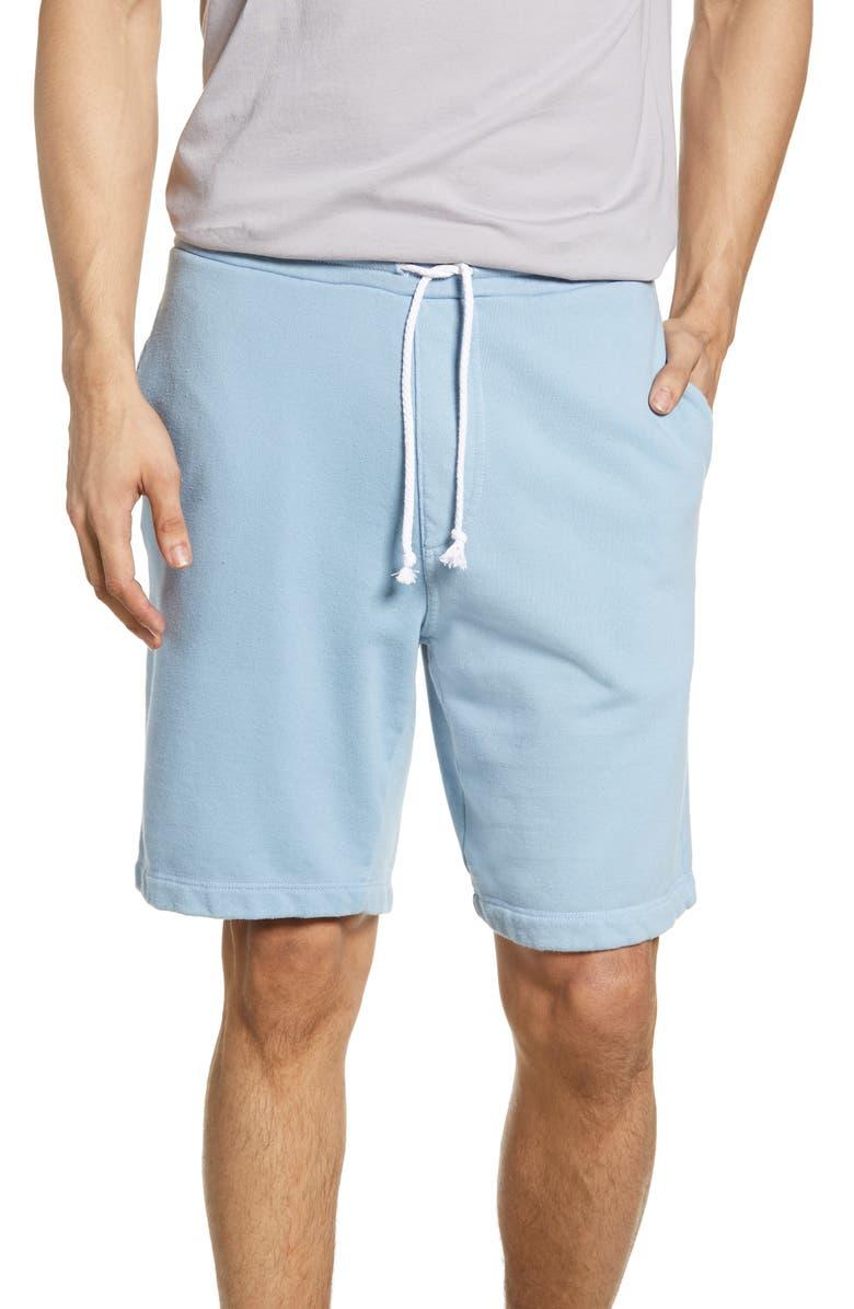 M.SINGER Lounge Shorts, Main, color, BLUE