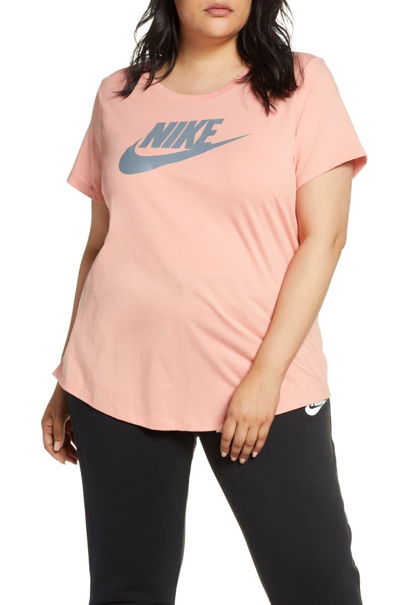 NIKE Sportswear Futura Tee, Main, color, PINK QUARTZ