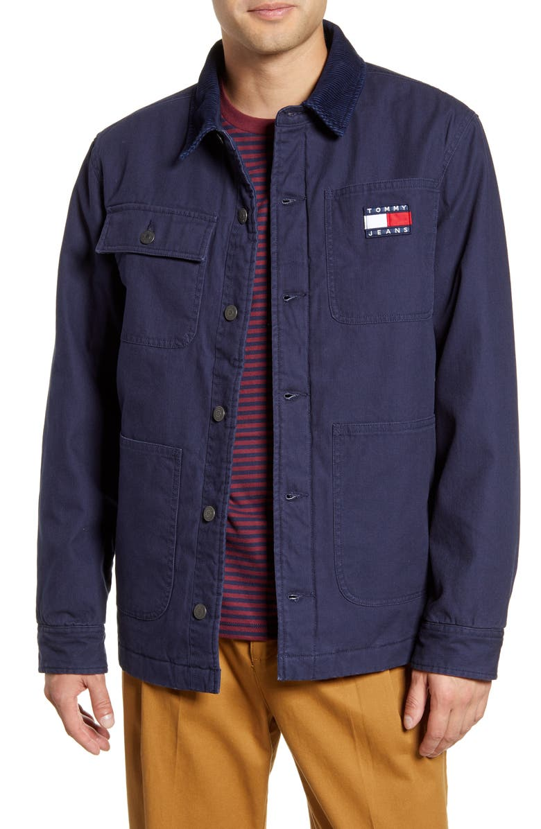 TOMMY JEANS TJM Workwear Jacket, Main, color, 400