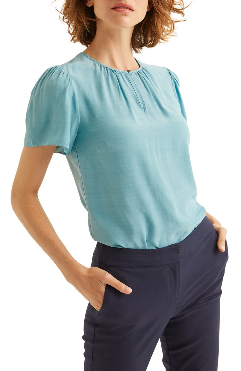 BODEN Phoebe Puff Sleeve Top, Main, color, 454