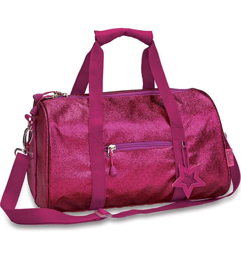 BIXBEE Sparkalicious Dance & Sports Duffel Bag, Main, color, RUBY RASPBERRY