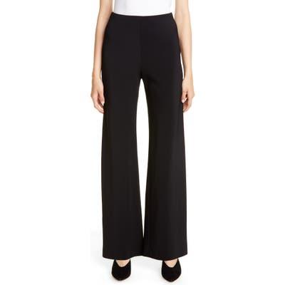 Rosetta Getty Stretch Jersey Pants, Black