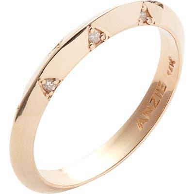 Anzie Cleo Diamond Stacking Ring