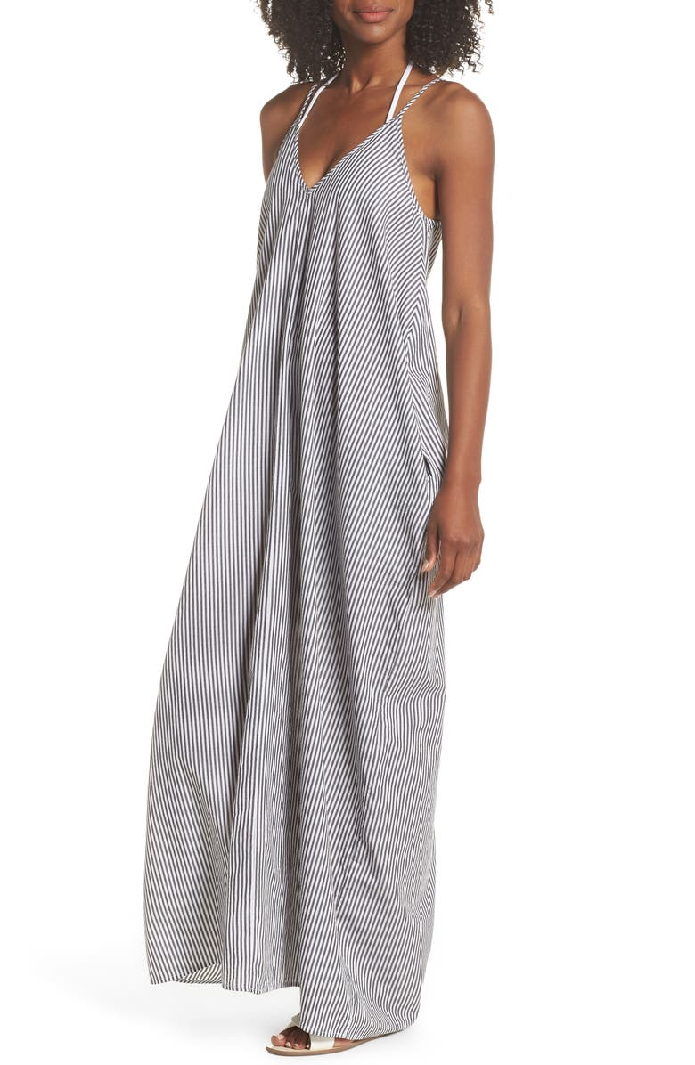 ELAN Cover-Up Maxi Dress, Main, color, 002