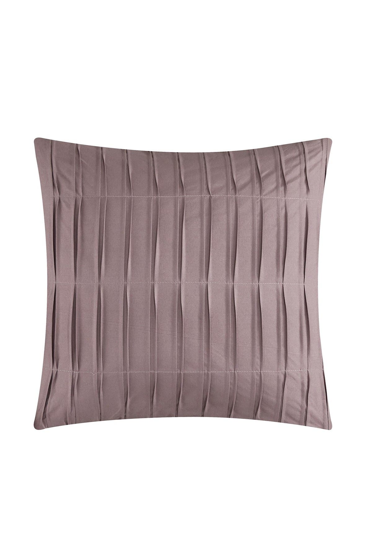 Image of Chic Home Bedding Jenson Jacquard Geometric Design King Comforter Set - Plum - 5-Piece Set