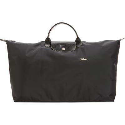 Longchamp Extra Large Le Pliage Club Travel Tote - Black
