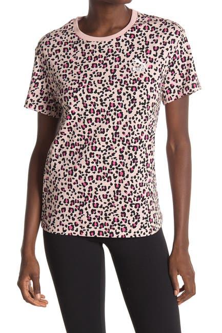 Image of PUMA Classics Leopard Printed T-Shirt