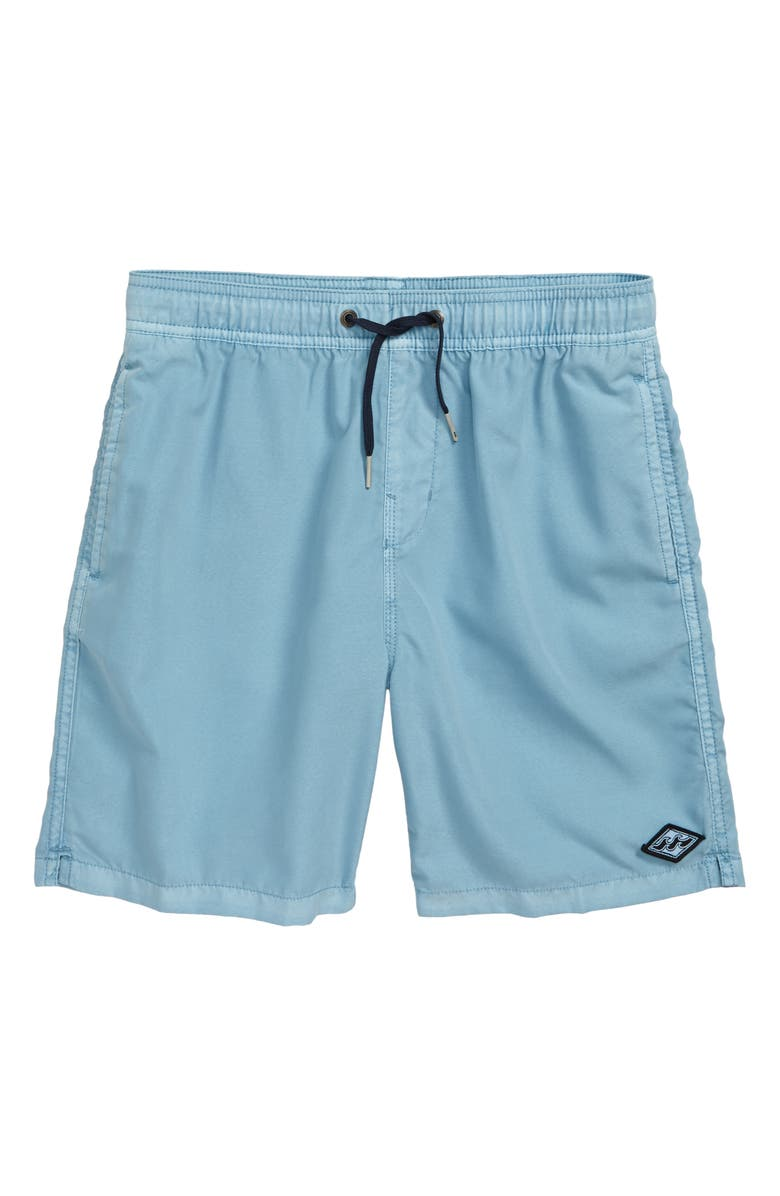 BILLABONG All Day Layback Swim Trunks, Main, color, COASTAL