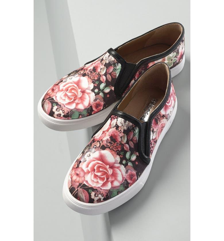 HALOGEN<SUP>®</SUP> 'Turner' Slip-On Sneaker, Main, color, 002