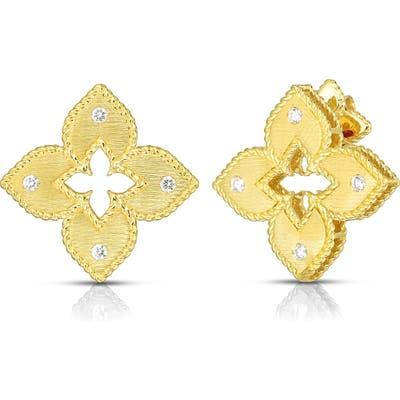 Roberto Coin Venetian Princess Diamond Earrings