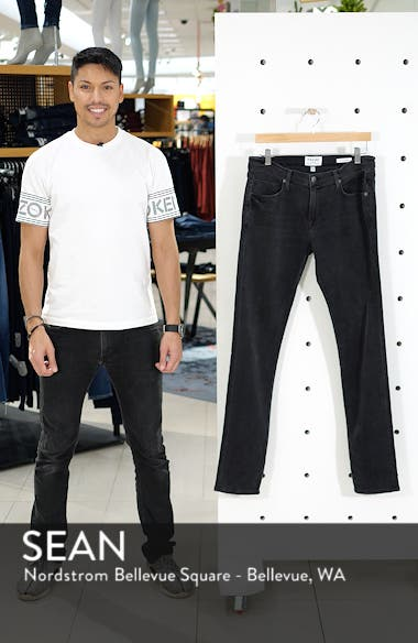 'L'Homme' Skinny Fit Jeans, sales video thumbnail