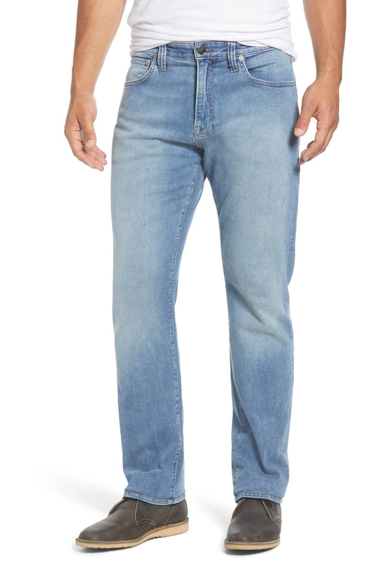 AGAVE Waterman Drakes Relaxed Straight Leg Jeans, Main, color, BIG DRAKES FLEX 8-YR