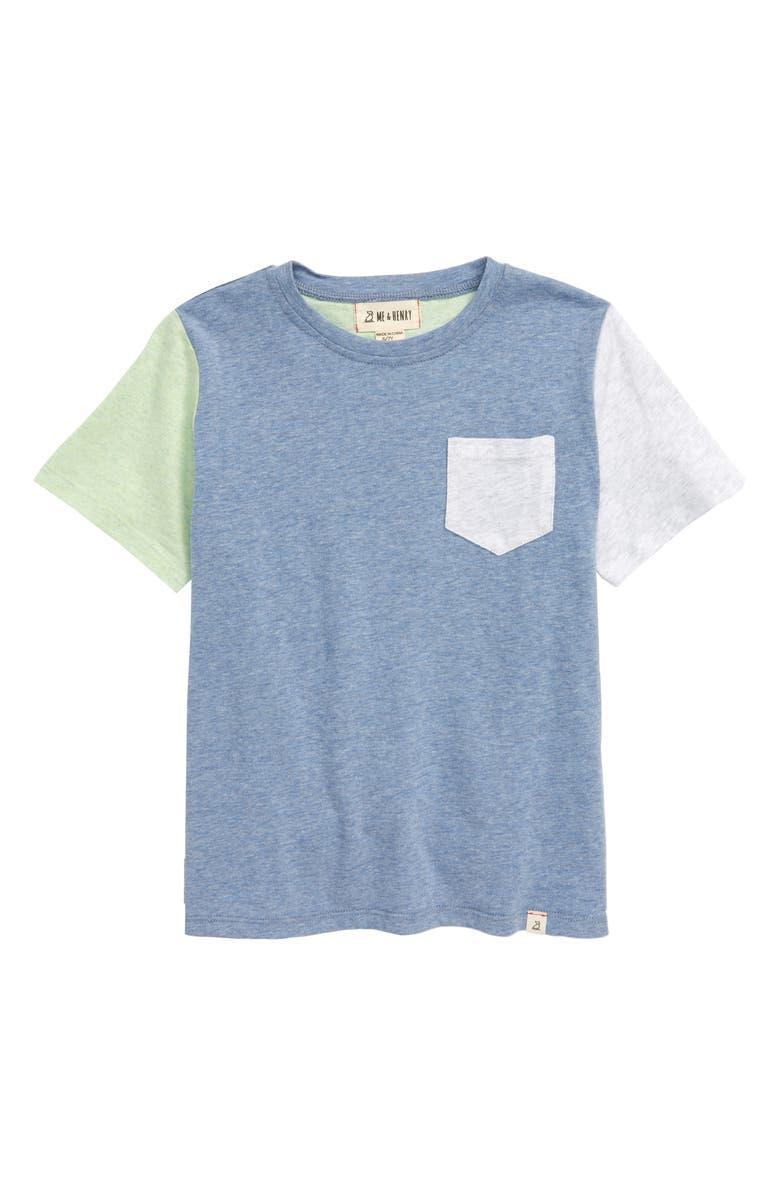 ME & HENRY Colorblock T-Shirt, Main, color, 400