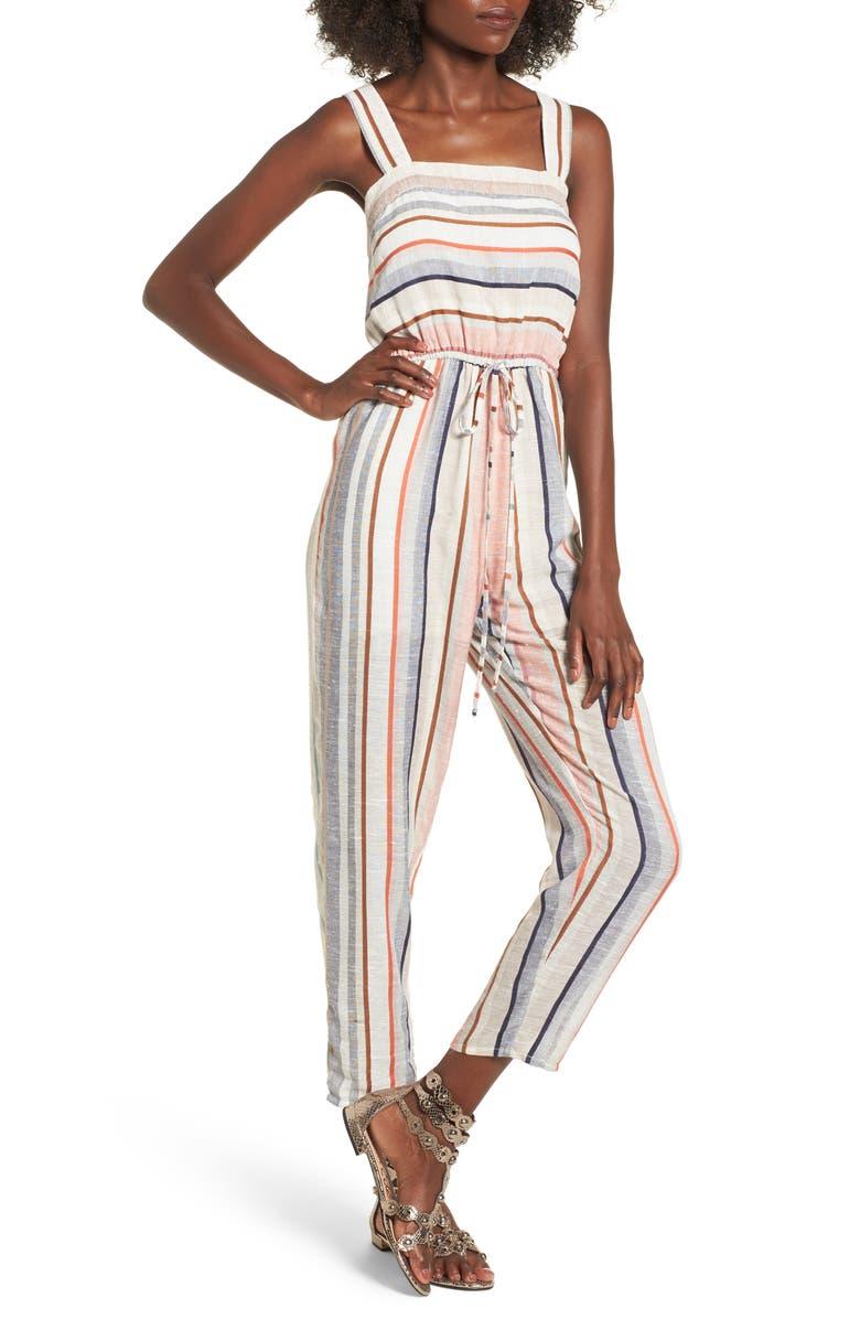 BP. Stripe Jumpsuit, Main, color, 270