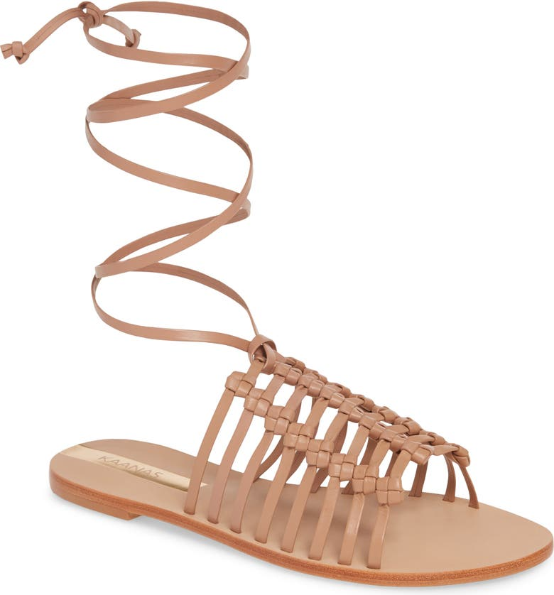 Porto Alegre Multi Knot Lace Up Sandal by Kaanas