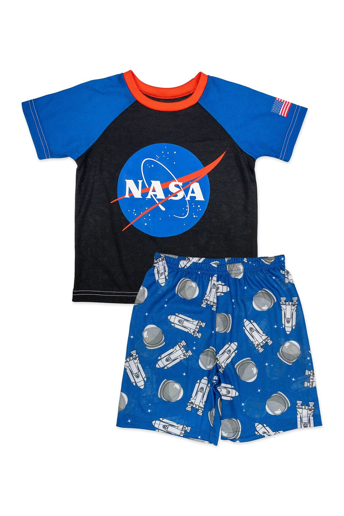 Image of SGI Apparel NASA Pajama Shorts Set