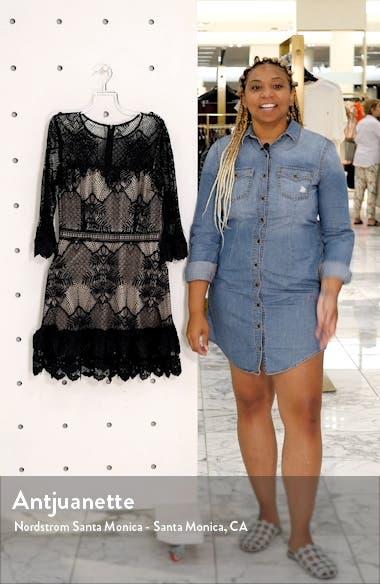 Ruffle Lace Minidress, sales video thumbnail