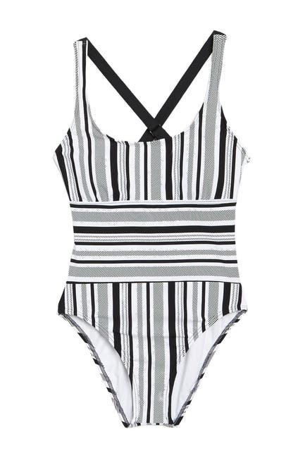 Image of NEXT Limitless Stripe One-Piece Swimsuit
