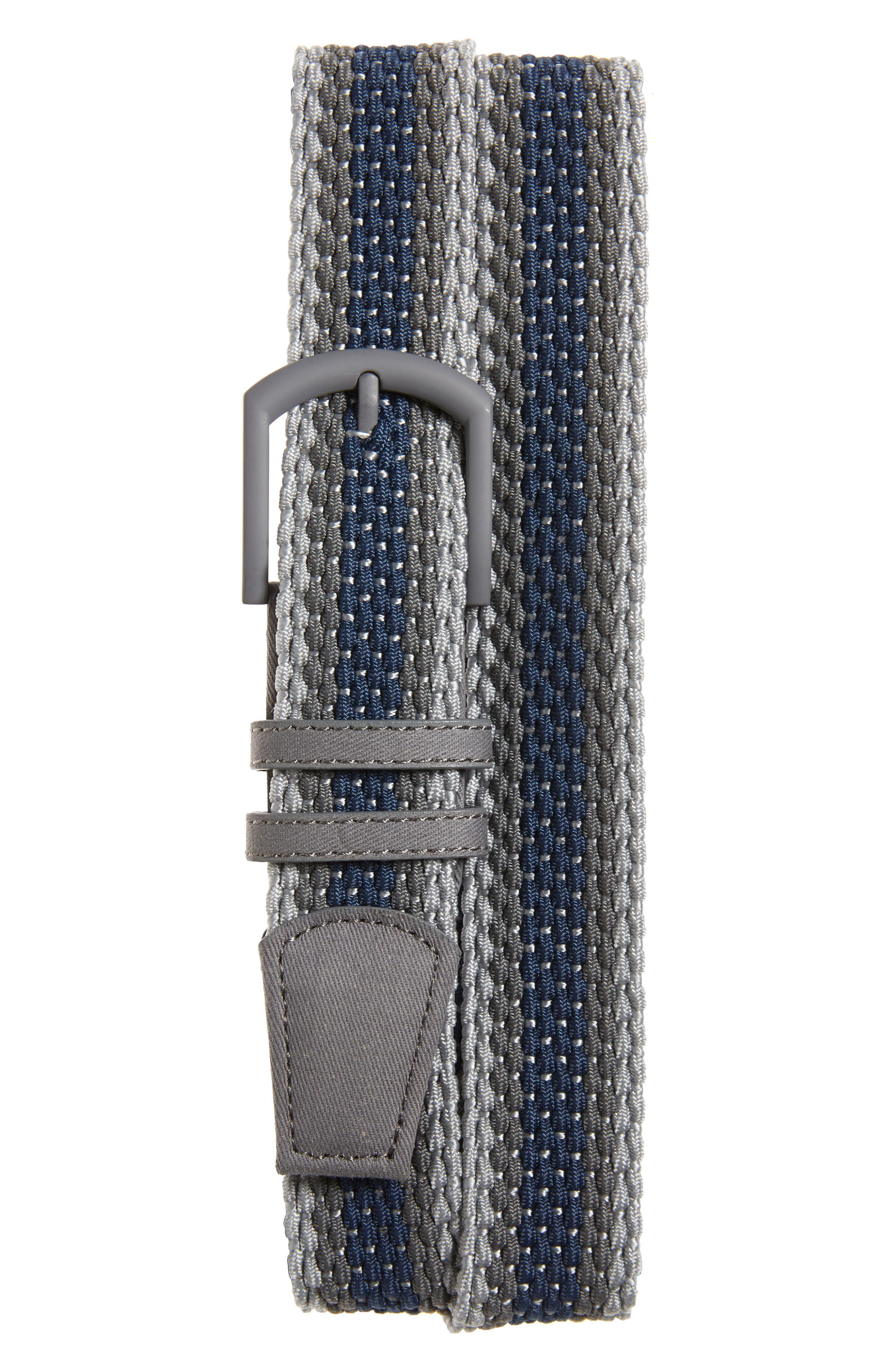A stretchy weave means a flexible fit in a cool, casual belt with easy appeal. Style Name: Travismathew Anglet Belt. Style Number: 6110562. Available in stores.