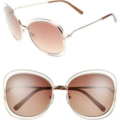 Chloe Carlina 60Mm Gradient Les Sunglasses -