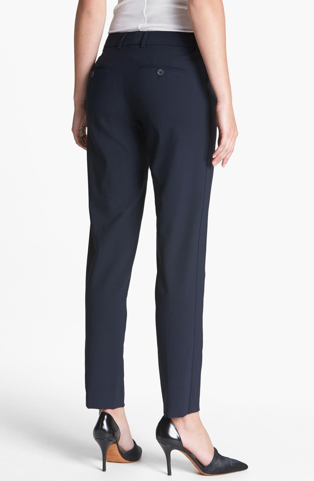 ,                             'Strapping' Stretch Wool Trousers,                             Alternate thumbnail 11, color,                             403
