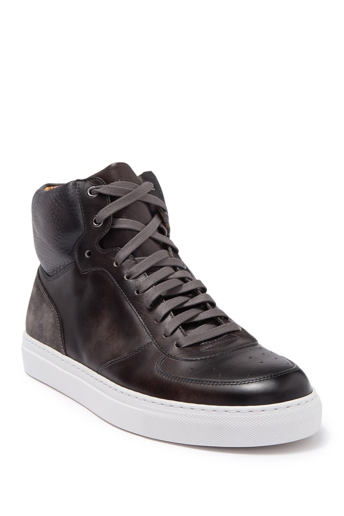 Image of Magnanni Royal Leather High Top Sneaker