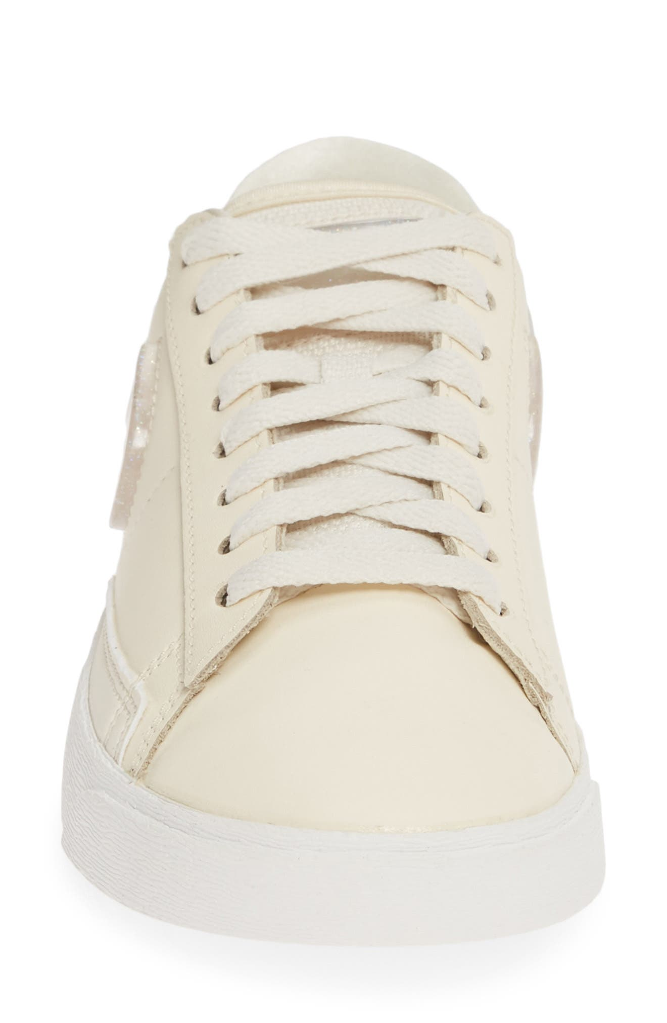 ,                             Blazer Low LX Sneaker,                             Alternate thumbnail 4, color,                             PALE IVORY/ GUAVA ICE/ WHITE